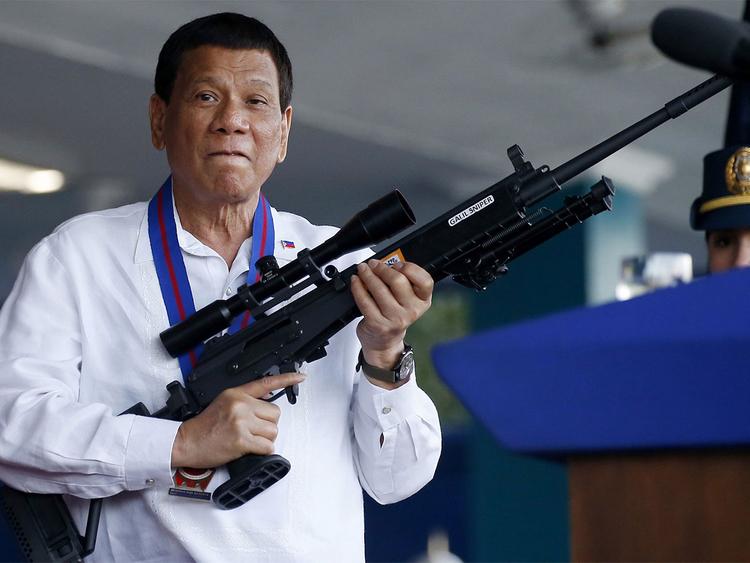 भ्रष्टाचारीलाई गोली ठोक्नुपर्छः फिलिपिन्स राष्ट्रपति डुटर्टे