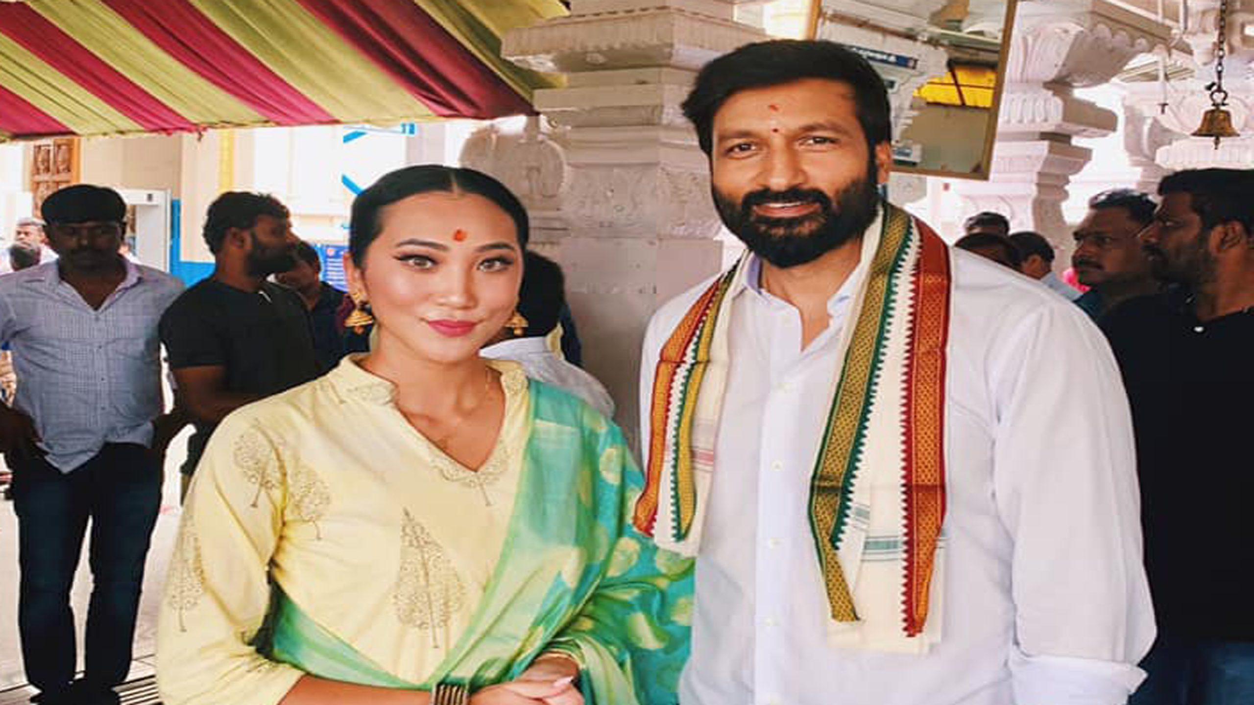 बोल्ड नायिका पारामिता आरएल राणा साउथ ईन्डियन फिल्ममा डेबिउ गर्दै