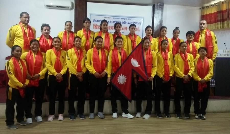 राष्ट्रिय महिला भलिबल टोली थाइल्याण्ड जादै