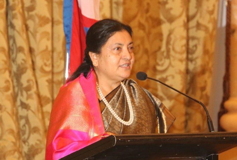 नेपाल संवतले आपसी सद्भाव अभिवृद्धि गर्ने राष्ट्रपति भण्डारीको विश्वास