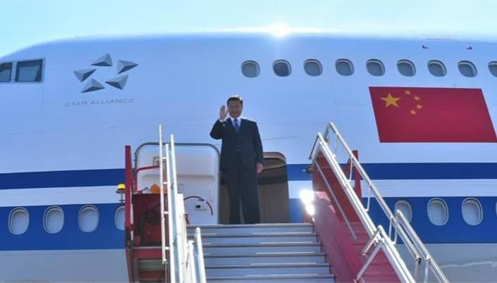 काठमाडौं आइपुगे चिनियाँ राष्ट्रपति सी चिनफिङ
