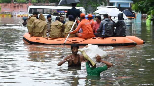 भारतको पूर्वी क्षेत्रमा मनसुनी वर्षाका कारण १४० जनाको मृत्यु
