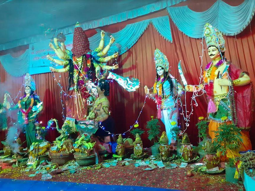 पशुपति क्षेत्र गौरीघाटमा नवदुर्ग पूजा