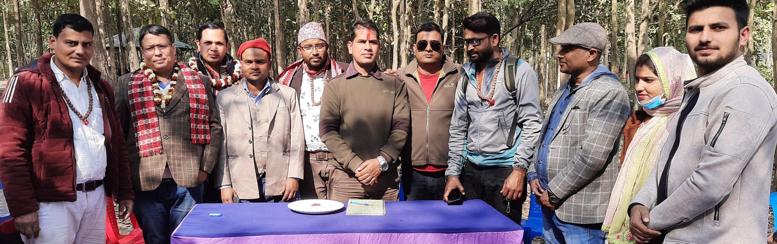 सुनसरीमा यादव पत्रकार समाज गठन
