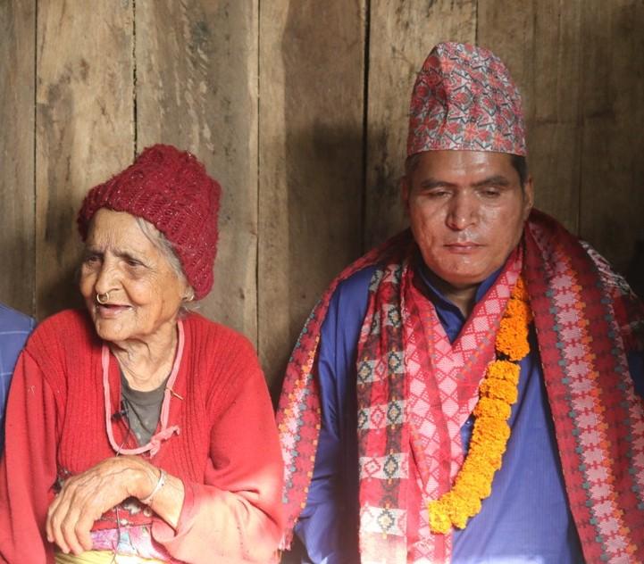 भारतको जेलमा ४० वर्ष विताएका दुर्गाप्रसादले घरको आँगन टेकेपछि