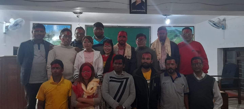 नेपाल पत्रकार महासंघको  इलाम अध्यक्षमा बिप्लव भट्टराई निर्बाचित