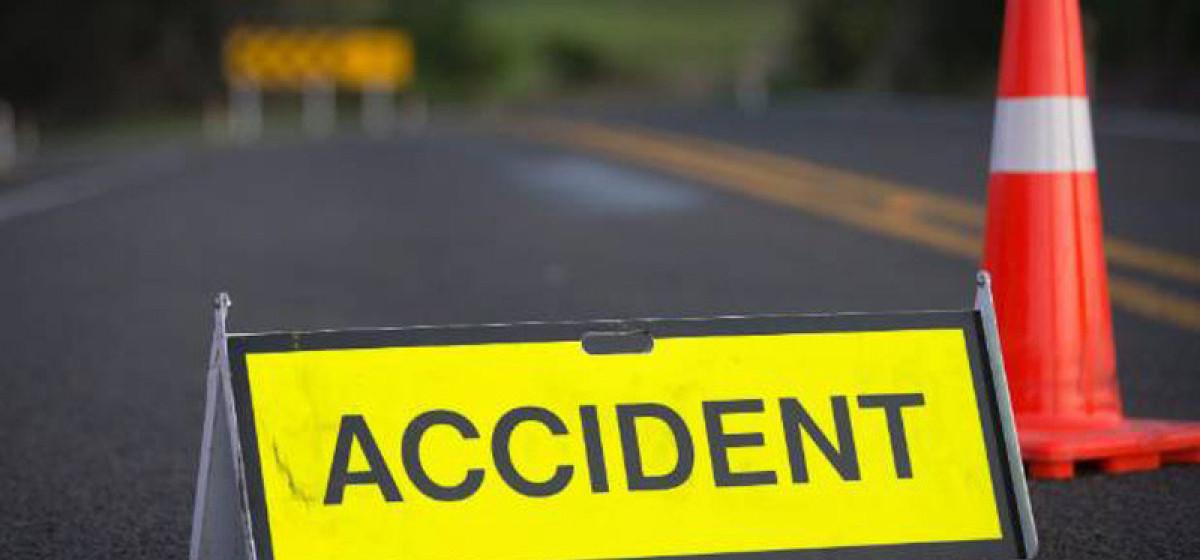 मेची राजमार्गमा पर्ने भालुखोपमा बोलेरो दुर्घटना , दुई जना घाइते