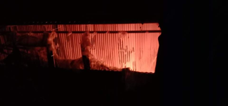 चिया कारखानामा आगलागी , तीन करोड बराबरको क्षति