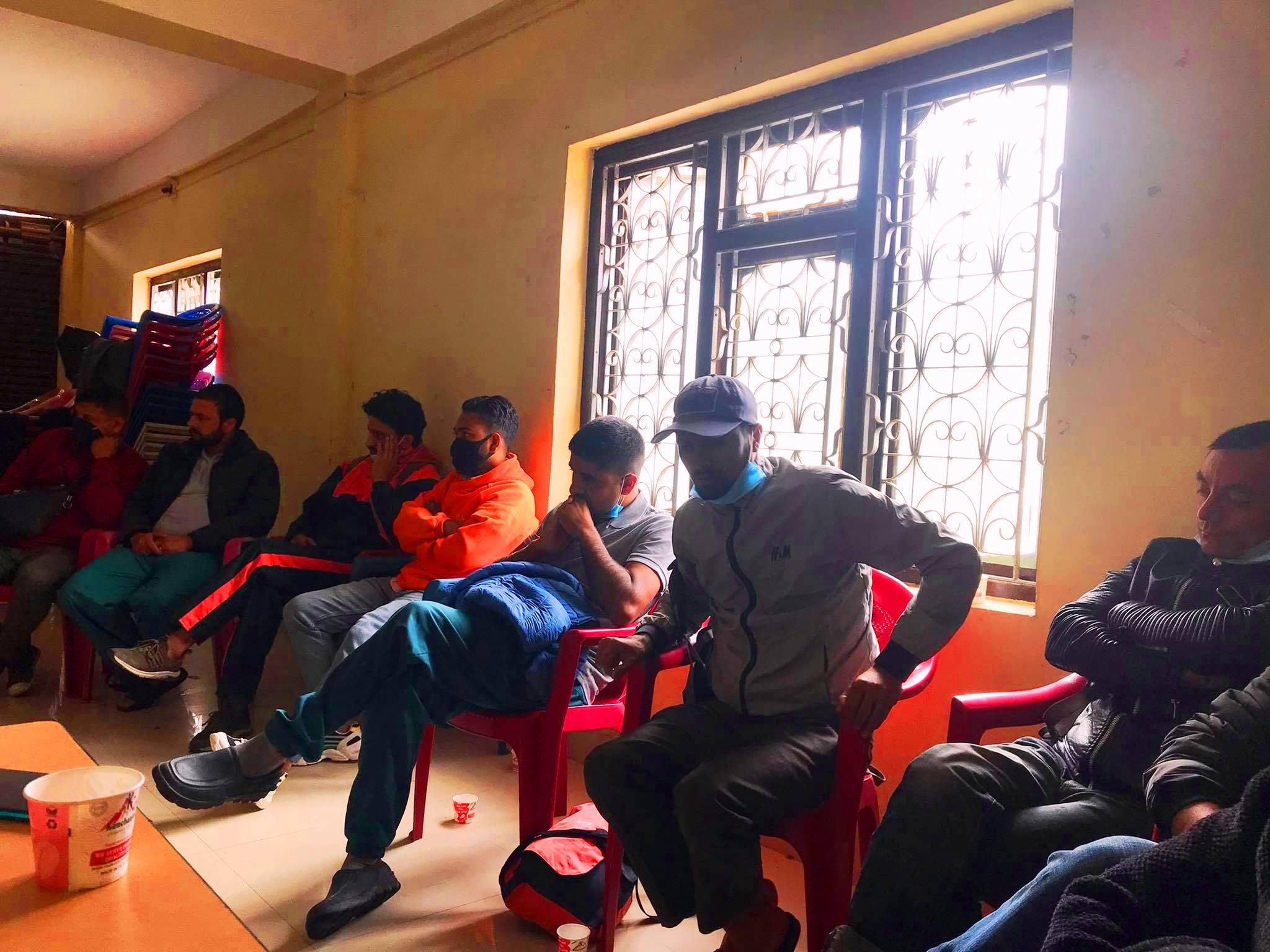 फिक्कलमा नेकपा समाजवादी निकट युवाको भेला